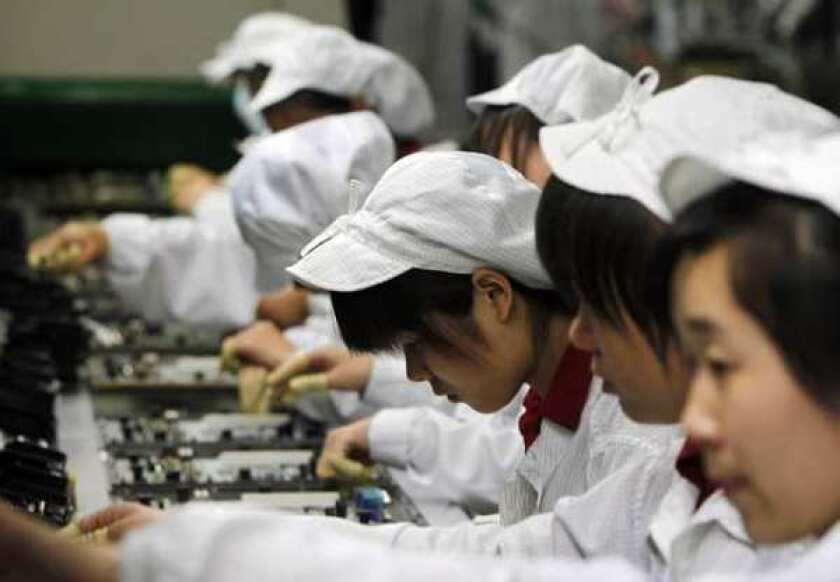 Major manufacturers abandoning China for U.S.?
