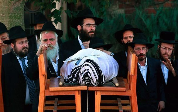 Funeral, Chabad Lubavitch
