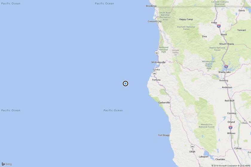 Earthquake: 3.0 quake strikes near Capetown, Calif.
