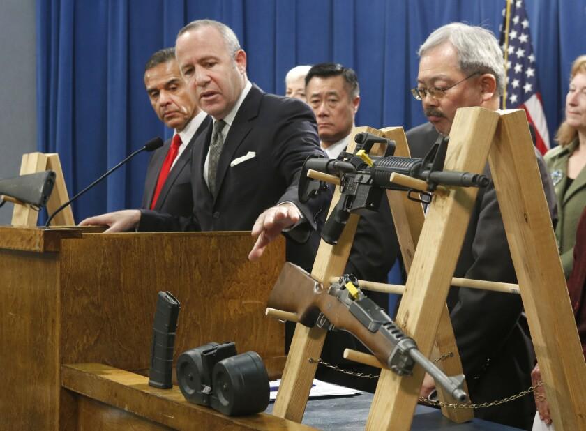 California Senate approves seven gun control bills