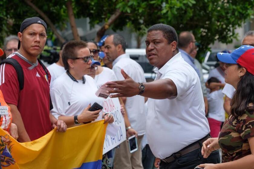 El presidente de Venezolanos Perseguidos Políticos en el Exilio (Veppex), José Antonio Colina. EFE/Archivo