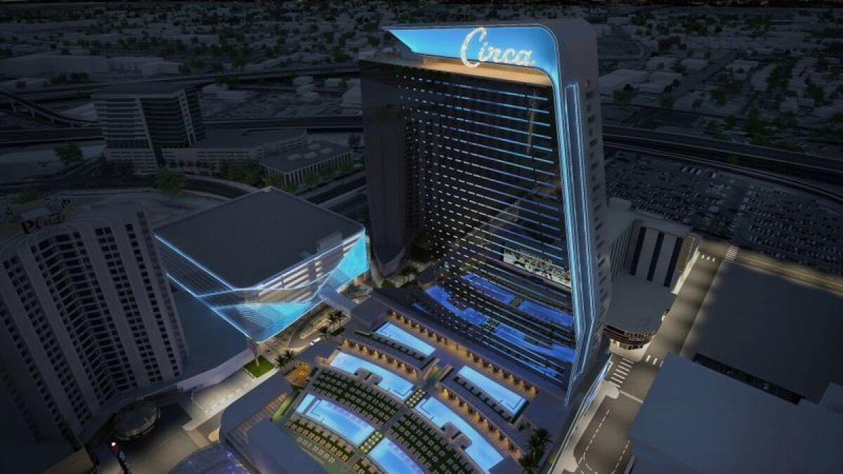 Las Vegas 2020 New Hotels And Raiders Football Stadium Open Los Angeles Times