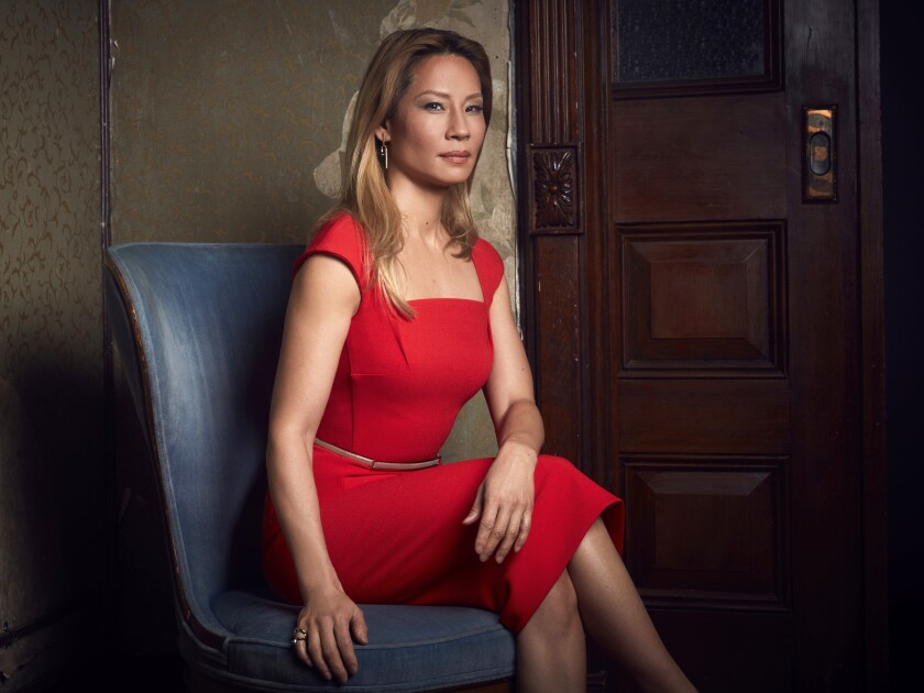 Lucy Liu stars in ELEMENTARY on CBS Television Network.