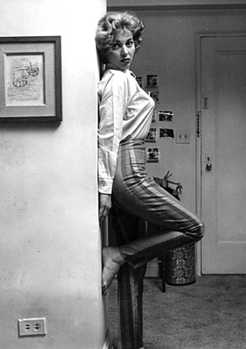 """Actress Beverly Garland in 1958. In that era she played an undercover New York police officer in the syndicated series """"Decoy"""" and starred in five films for B-movie king Roger Corman."""