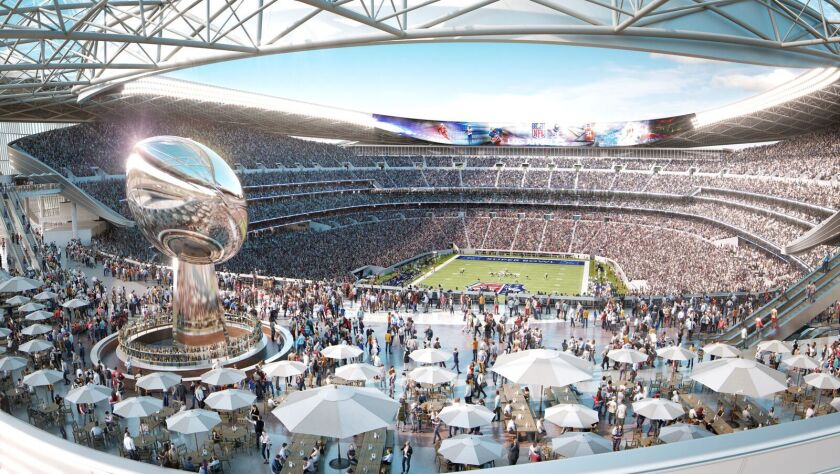 Proposed Carson NFL stadium