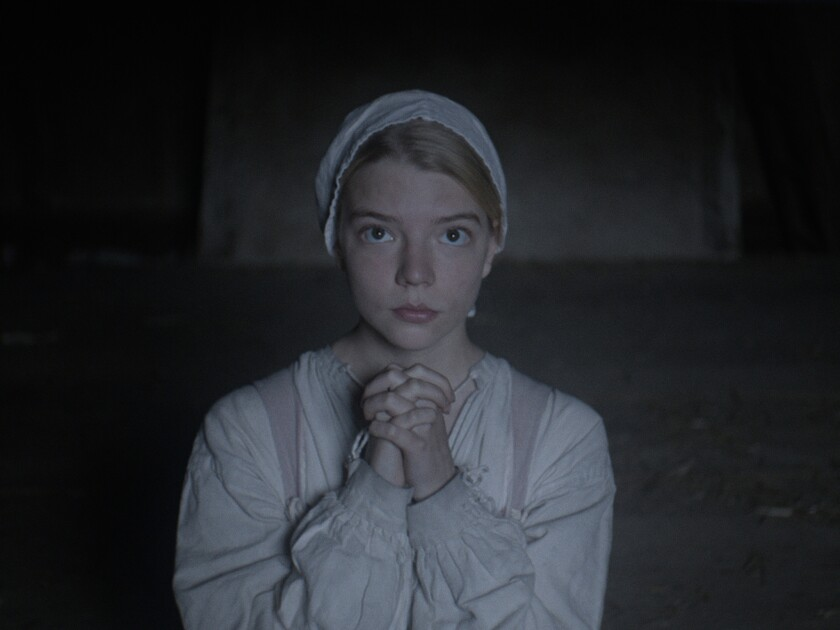 """Anya Taylor-Joy as Thomasin in """"The Witch."""""""
