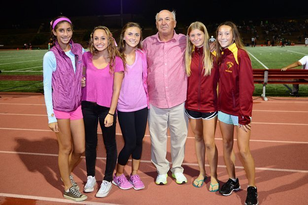 TPHS Cross Country Coach Brent Thorne honored