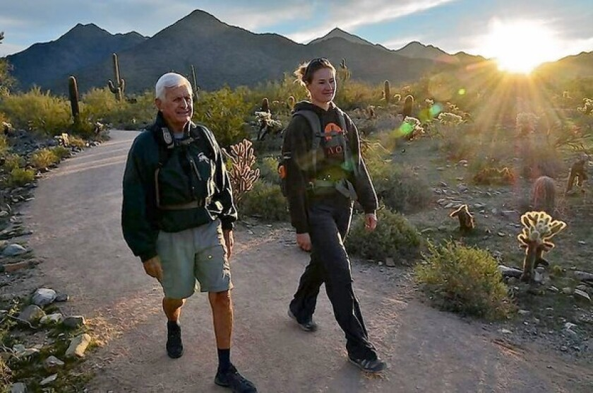 McDowell Sonoran Preserve, on the edge of Scottsdale, Ariz., makes a brilliant spot for an early-morning hike.