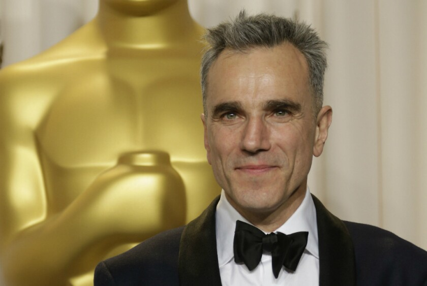 Daniel Day-Lewis will serve as a presenter at this year's Academy Awards.