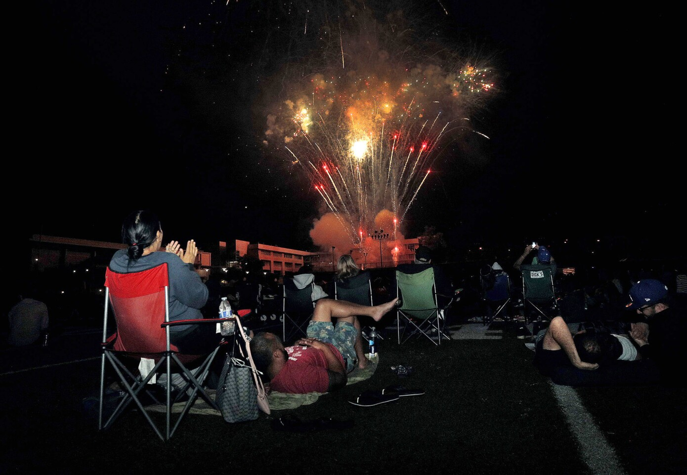 Photo Gallery: 14th annual Crescenta Valley Fireworks Association Fireworks Extravaganza at Crescenta Valley High School