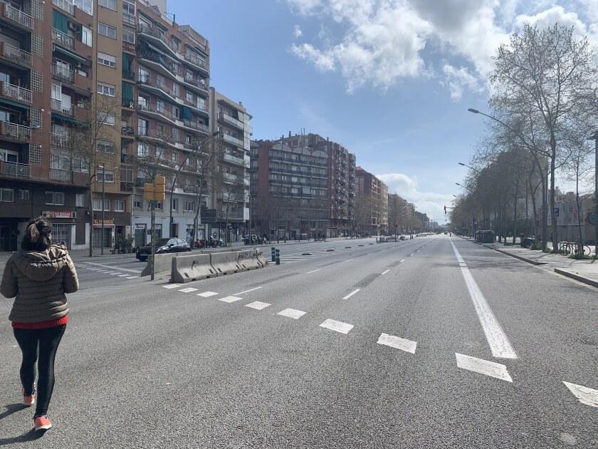 Fue hasta que se entendió la gravedad de la situación, que las calles de la bulliciosa ciudad de Barcelona se empezaron a quedar solas.