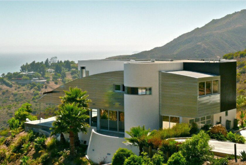 """The Malibu residence featured in Paul Schrader's """"The Canyons."""""""