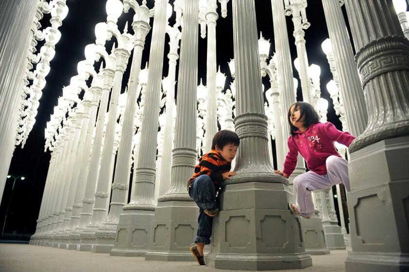 'Urban Light' goes dark