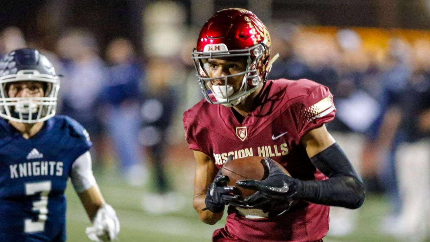 Mission Hills Receiver Olave Commits To Ohio State The San Diego Union Tribune