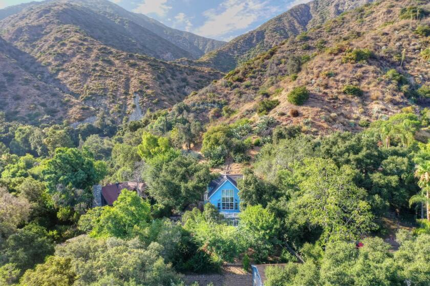 Frank Simes' Sierra Madre home   Hot Property