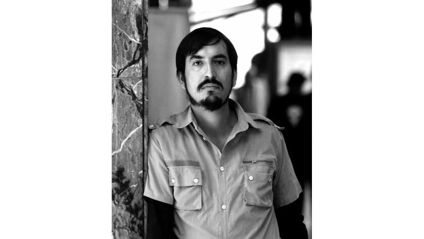 Author Carlos Labbe.