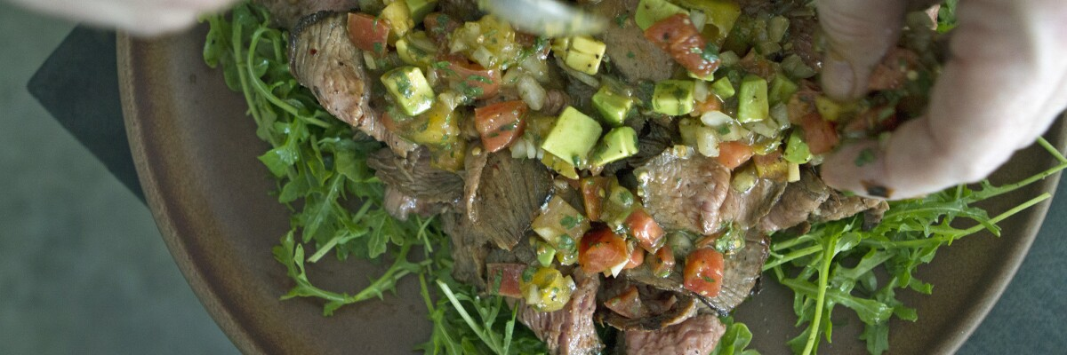 Steak salad recipes