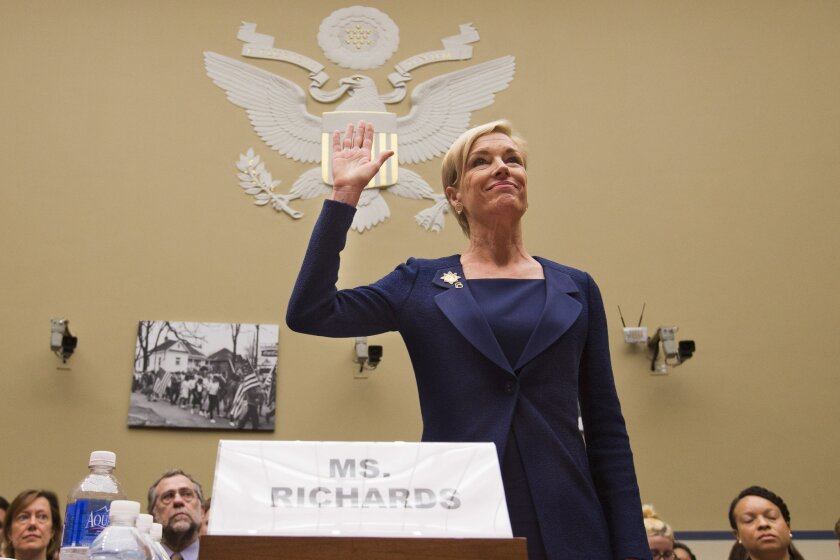 Planned Parenthood Federation of America President Cecile Richards testified before Congress last month.