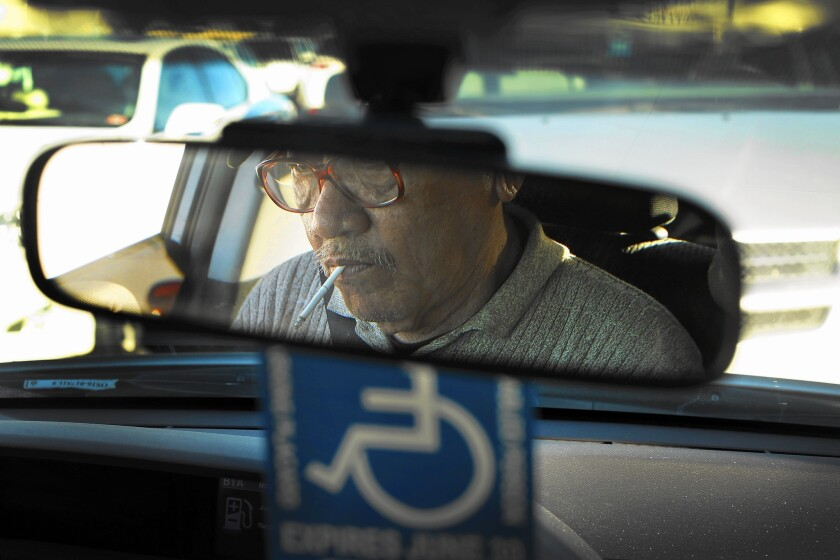 Cab driver Long Hoang Ma was kidnapped and made to drive the three escaped fugitives from Orange County over the course of several days, he says.