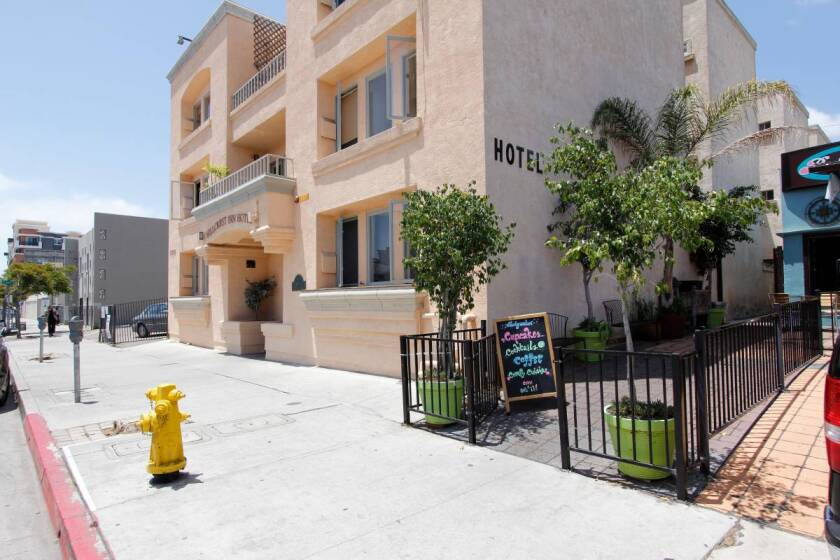 The Hillcrest Inn is a single-room occupancy hotel that rents some rooms on Airbnb. The San Diego Housing Commission investigated the practice and found nothing illegal.