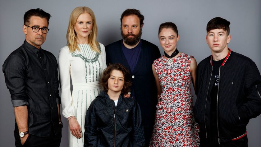 TORONTO, ON, CA--SATURDAY, SEPTEMBER 09, 2017 - Actor Colin Farrell, actress Nicole Kidman, actor Su