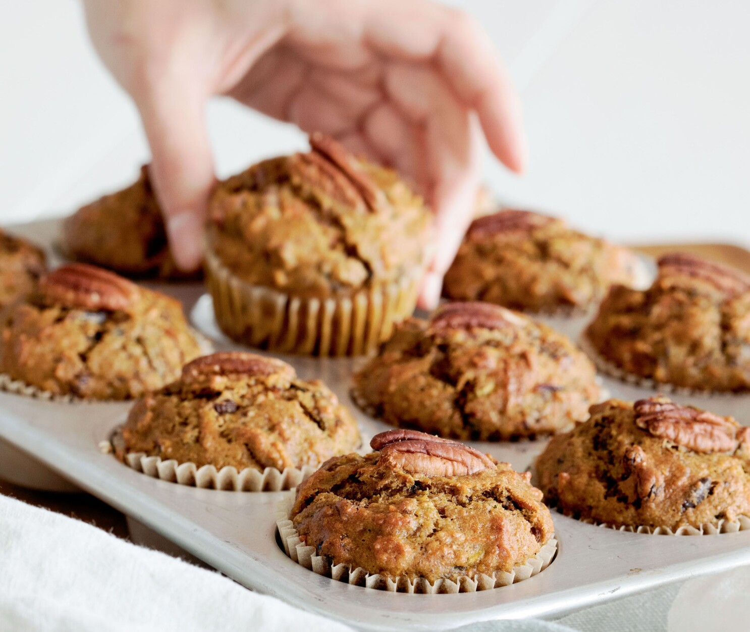 Muffin recipe is loaded with fruit and vegetables