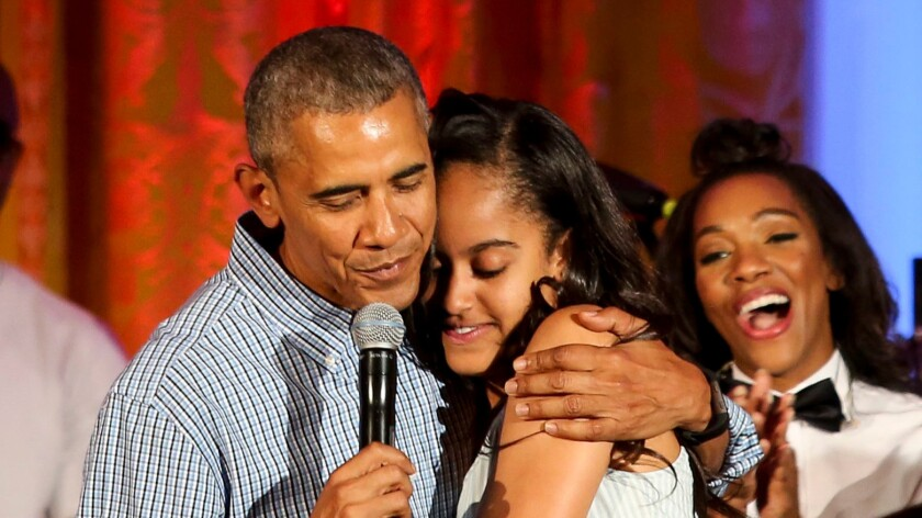 How being a dad made Obama a feminist - Los Angeles Times