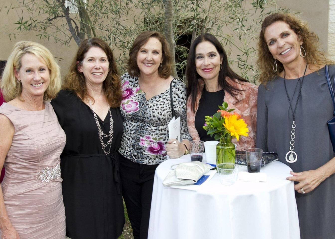 Carol Gunness, Kelly Hughes, Corie Heinzelmann, Alexa Saxon, Christy Hines