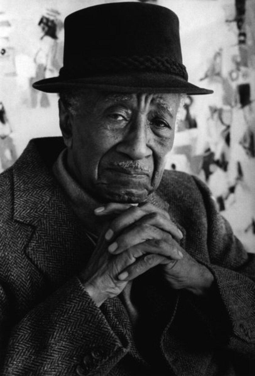 Portrait of the late writer Albert Murray in New York, 2000.