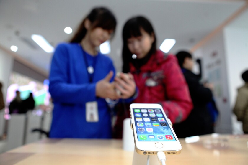 Wal-Mart said it will now sell the iPhone 5s, seen above, for $79 with a two-year contract.
