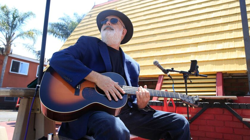 San Diego singer-songwriter Jack Tempchin (above) is a longtime favorite of fellow troubadour Steve Poltz.