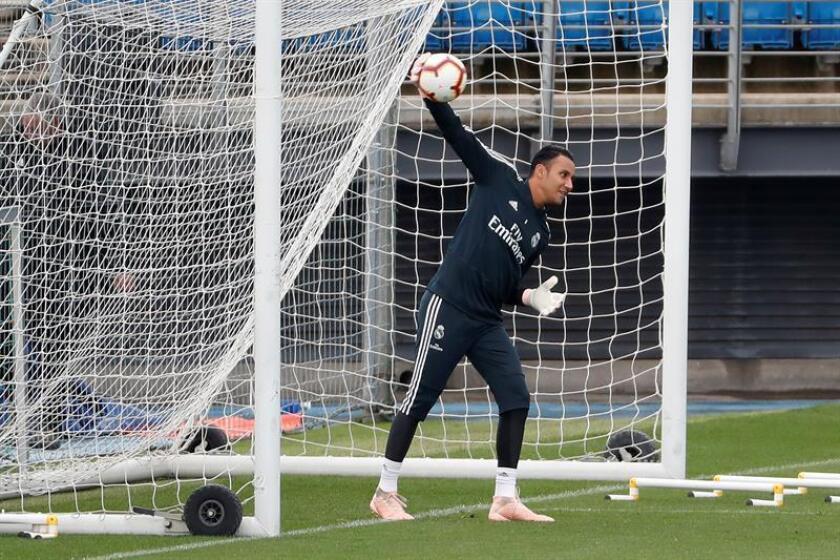 El portero costarricense del Real Madrid, Keylor Navas. EFE/Archivo