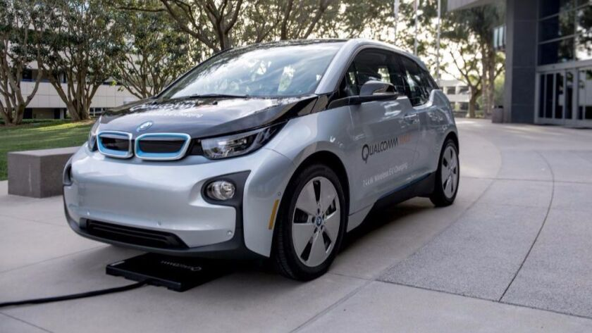 The Qualcomm Halo is one of a number of technologies using wireless charging systems to power electric vehicles.