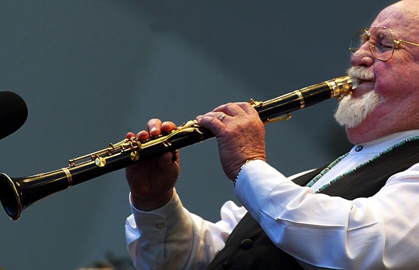 New Orleans jazz clarinetist Pete Fountain
