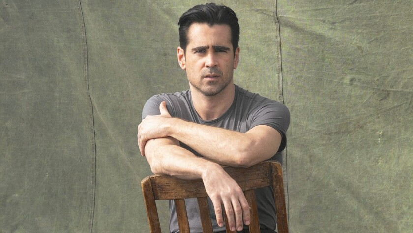 """Colin Farrell is the face of Dolce & Gabbana's new Intenso scent, and the star of Season 2 of HBO's """"True Detective."""""""