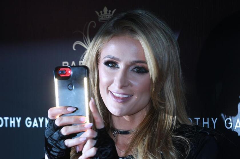 Fotografía de la celebridad estadounidense Paris Hilton. EFE/Archivo