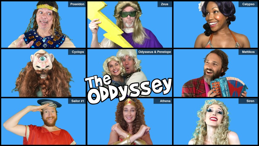 """Troubadour Theater Company's """"The ODDyssey"""""""