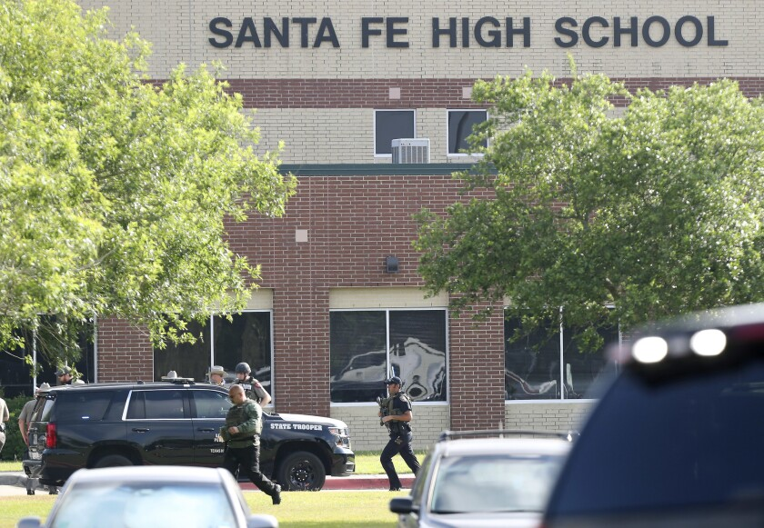 Santa Fe, unlike Parkland, says the issue behind the latest