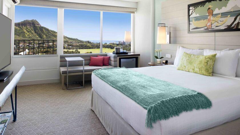 The Queen Kapiolani Hotel on Honolulu's Waikiki Beach has an introductory $150-a-night rate to celeb