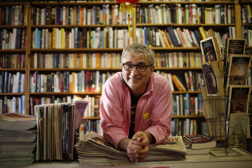 David Kipen of the bookstore Libros Schmibros in Boyle Heights.