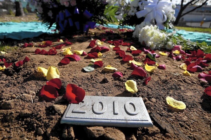 Remembrance ceremony for unclaimed dead