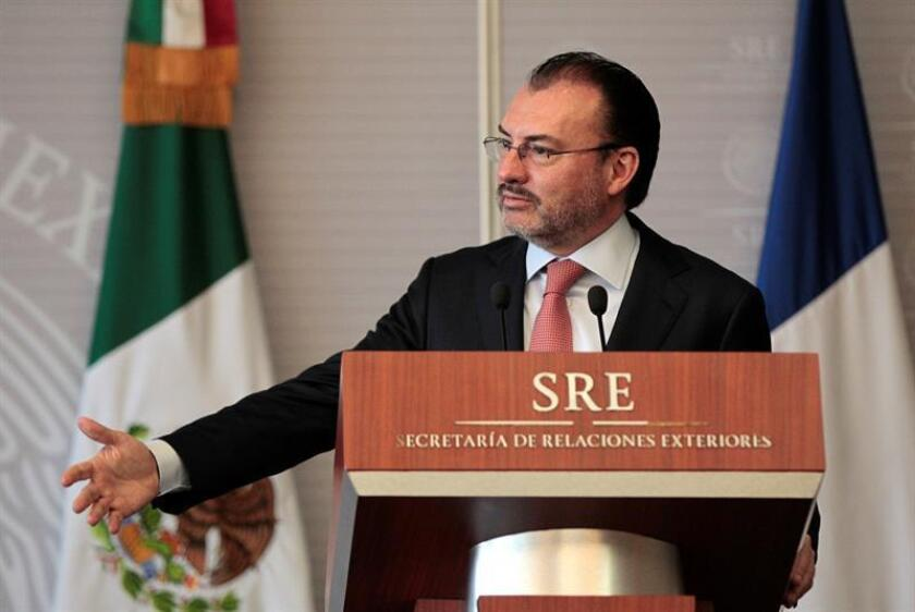 Imagen de archivo del canciller mexicano, Luis Videgaray. EFE/Archivo