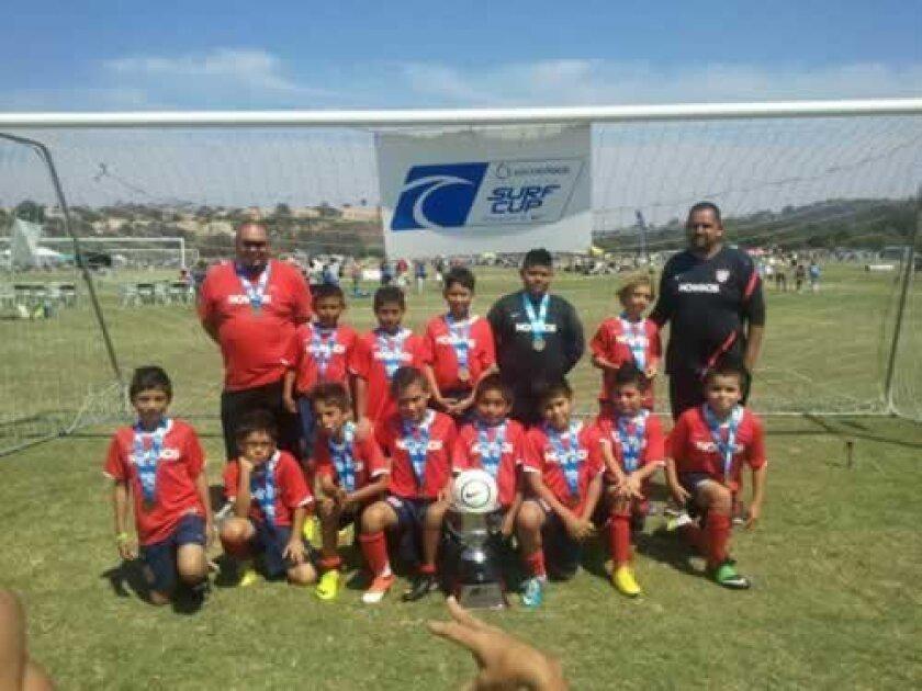 Nomads Muñoz soccer team. Courtesy