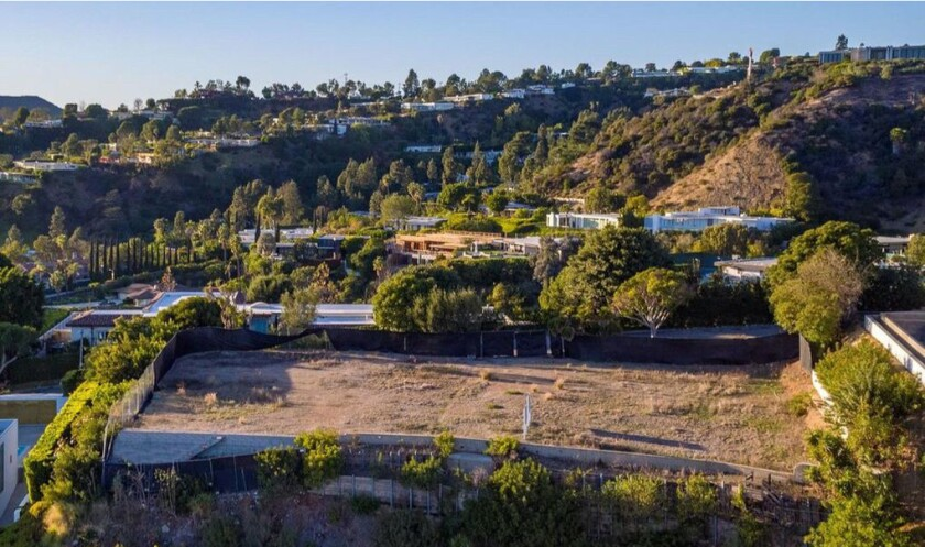 David Geffen's Beverly Hills property