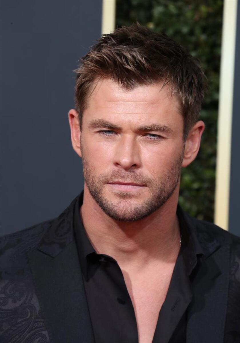 """El actor australiano Chris Hemsworth, muy popular por su interpretación de Thor en las películas sobre los cómics de Marvel, está negociando protagonizar la nueva cinta derivada de la trama de """"Men in Black"""", informó hoy el medio especializado The Hollywood Reporter. EFE/EPA/ARCHIVO"""