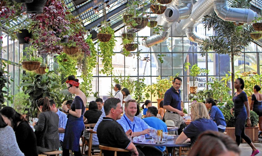 Commissary is Roy Choi's greenhouse for growing veggie dish ideas