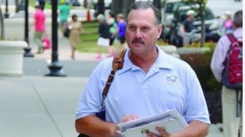David Crestik has been delivering mail for 21 years.