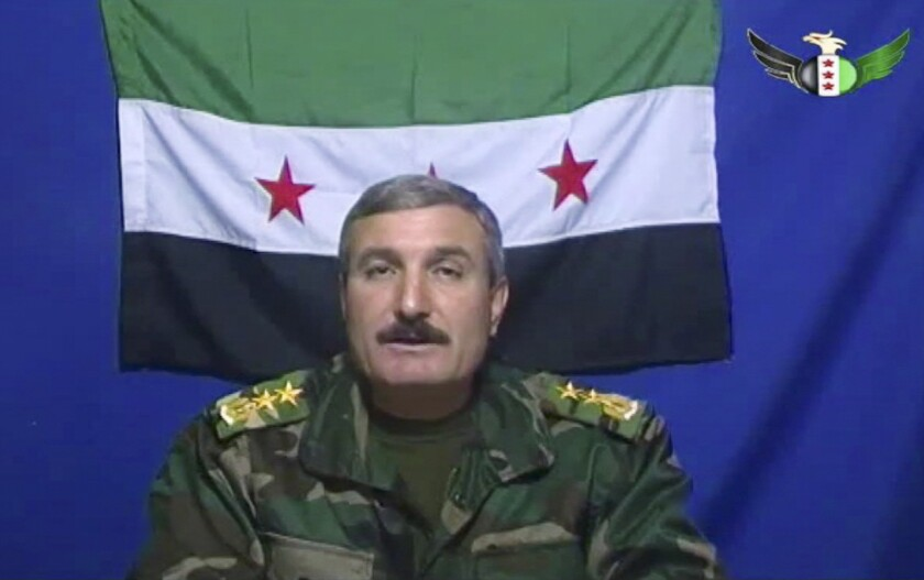 Syrian rebel commander badly hurt in car bombing