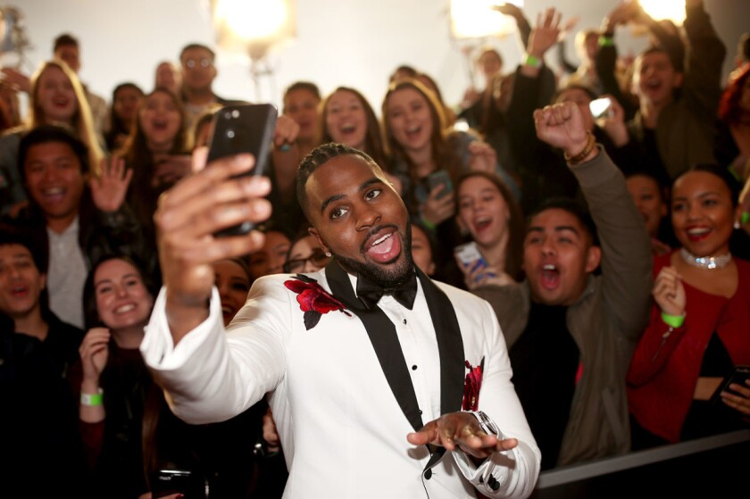 Singer-songwriter Jason Derulo will perform at the 2017 KAABOO festival in Del Mar. (Photo by Christopher Polk/Getty Images for iHeartMedia)