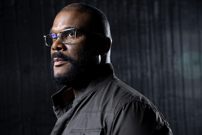 Tyler Perry, who is preparing to expand his namesake studios in Atlanta on Saturday.
